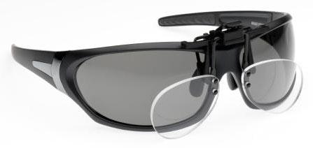 Aqua Clip Reader Polarisationsbrillenaufstecker +2,5 Dioptrien