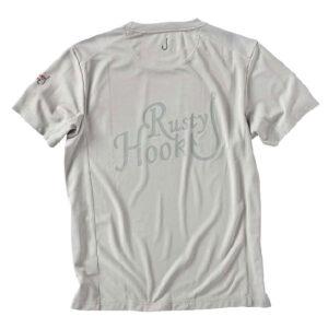 Rusty Hook Attersee cooldry T-Shirt kreide