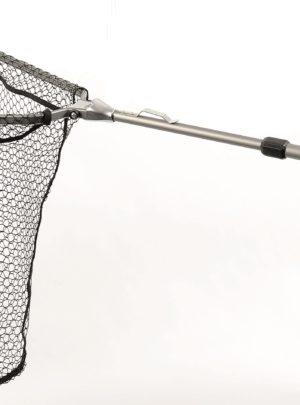 Grauvell Spinnangler Kescher Aluminiumkopf mit Magnet